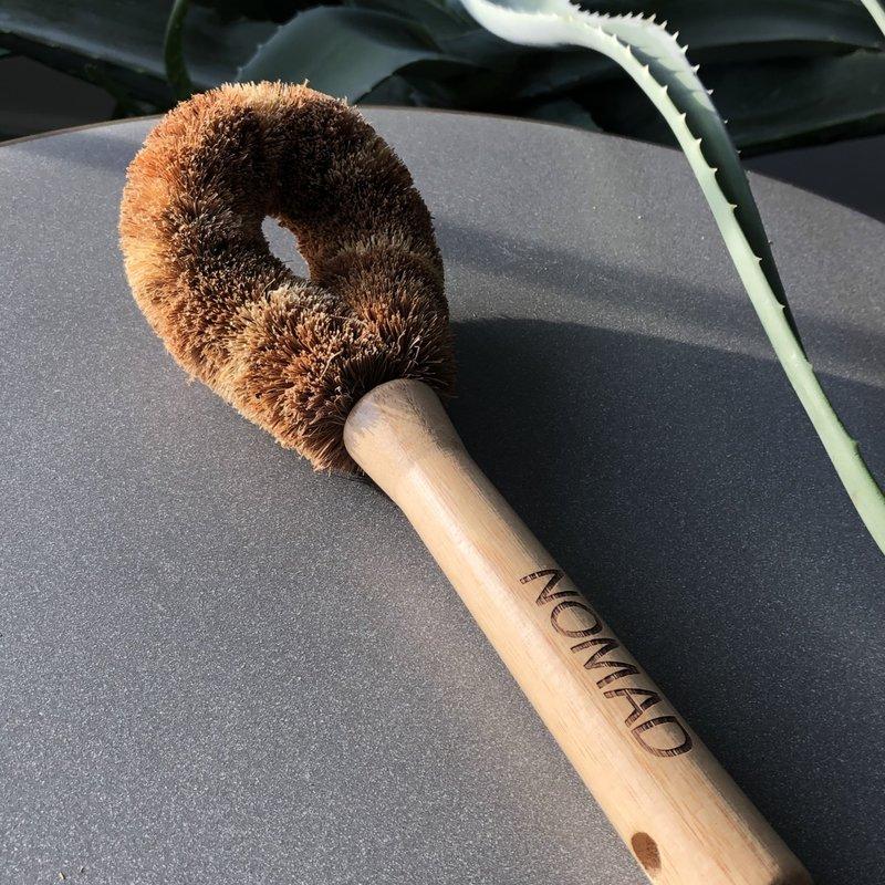 NOMAD Coconut  Husk Brush - Dishes or Vegetables
