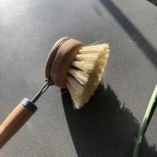 - Bamboo Pot Brush w/handle