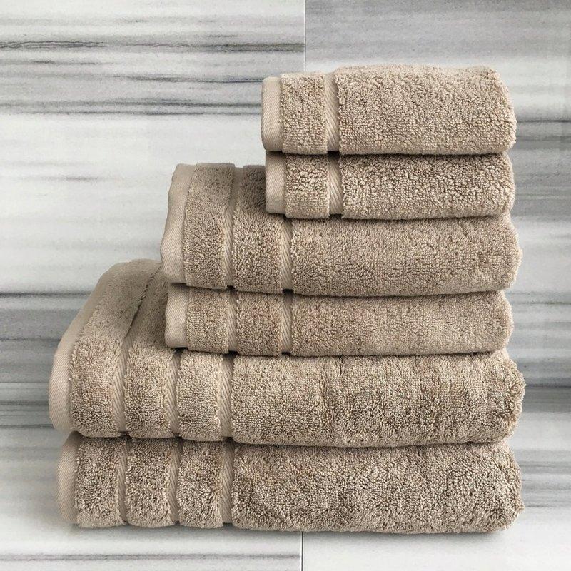 - Serene Hydrocotton Quick Dry Stone Towels