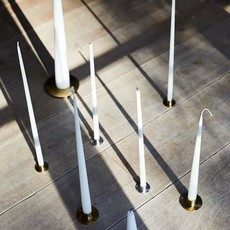 - Candle Plate - Brushed Brass