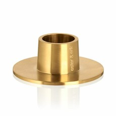 - Taper Candle Holder - Brushed Brass