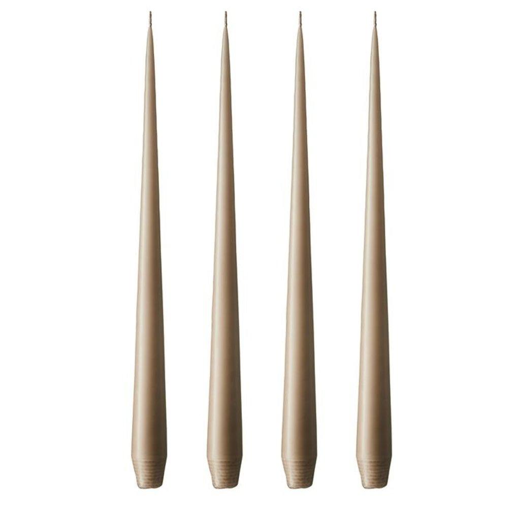 - E&E - Taper Candle -  Beige No 11 - 32cm