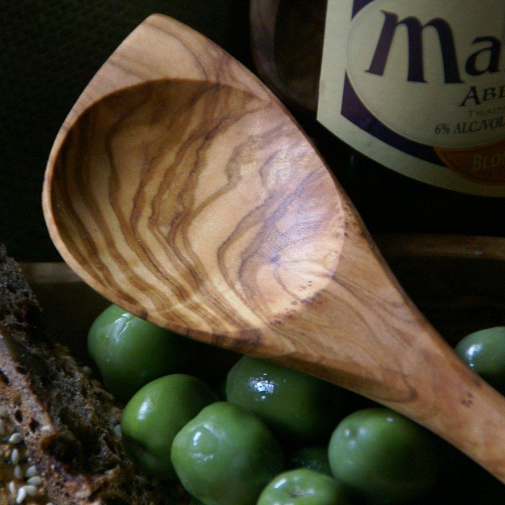 - Olive Wood Baking Spoon