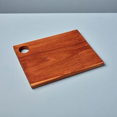 - Teak Square Board with Handle