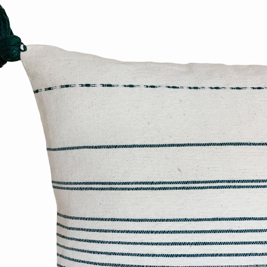 Antonia Agave Stripe Jewel Green