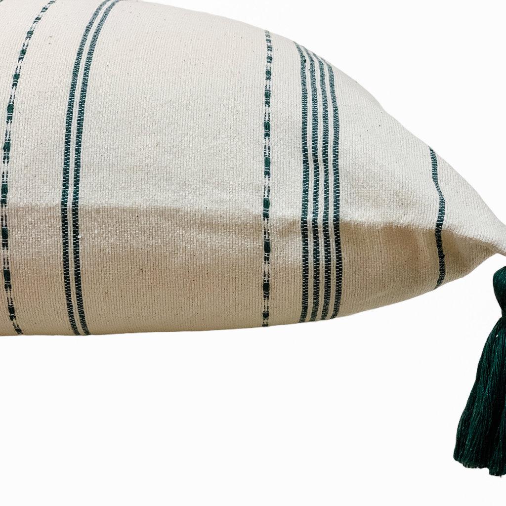 - Agave Stripe Jewel Green