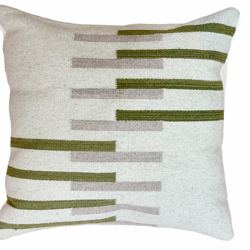 - Geo Wool Pillow Cover