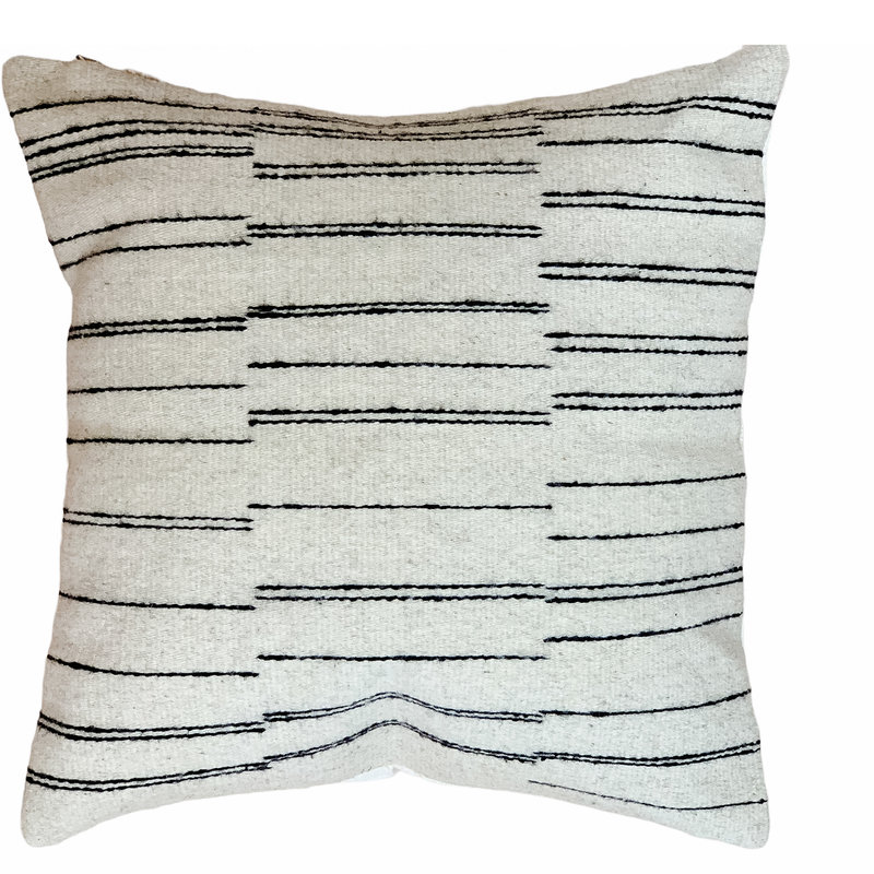 - Camino Wool Pillow Cover