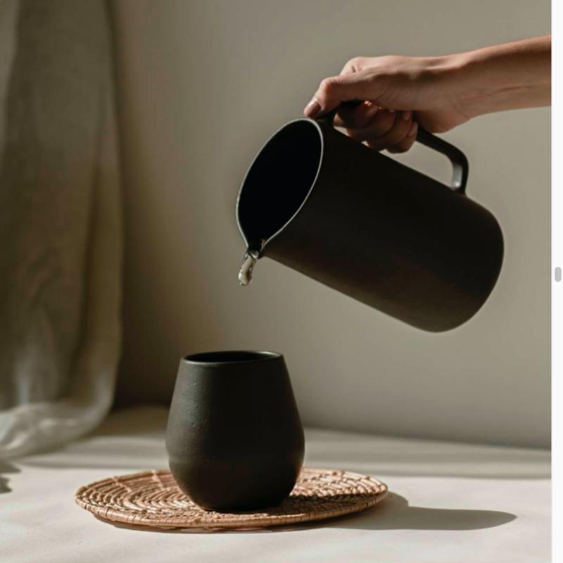 Encrudo Ceramic Pitcher