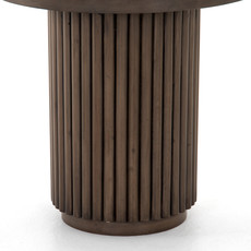 Four Hands Rutherford Side Table - Ashen Brown
