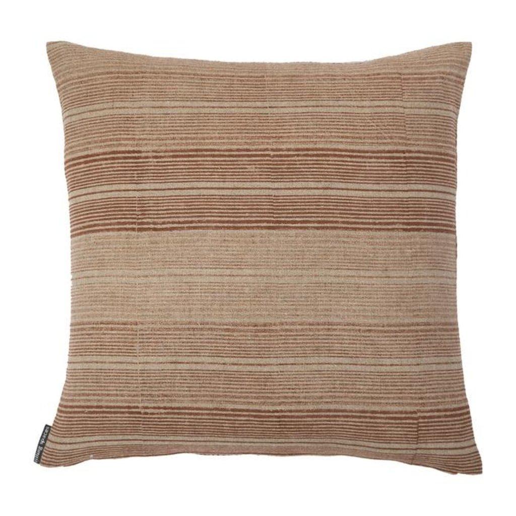 - Ombre Stripe of Saffron Pillow Cover