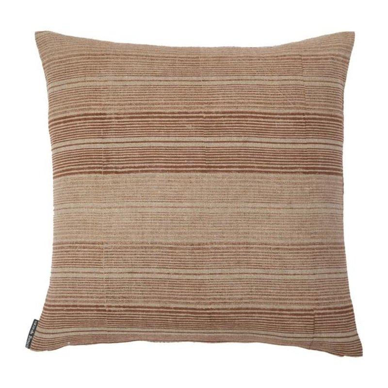 Filling Spaces Ombre Stripe of Saffron Pillow Cover
