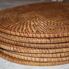 - Bali Oval Placemat - Natural (Set of 4)