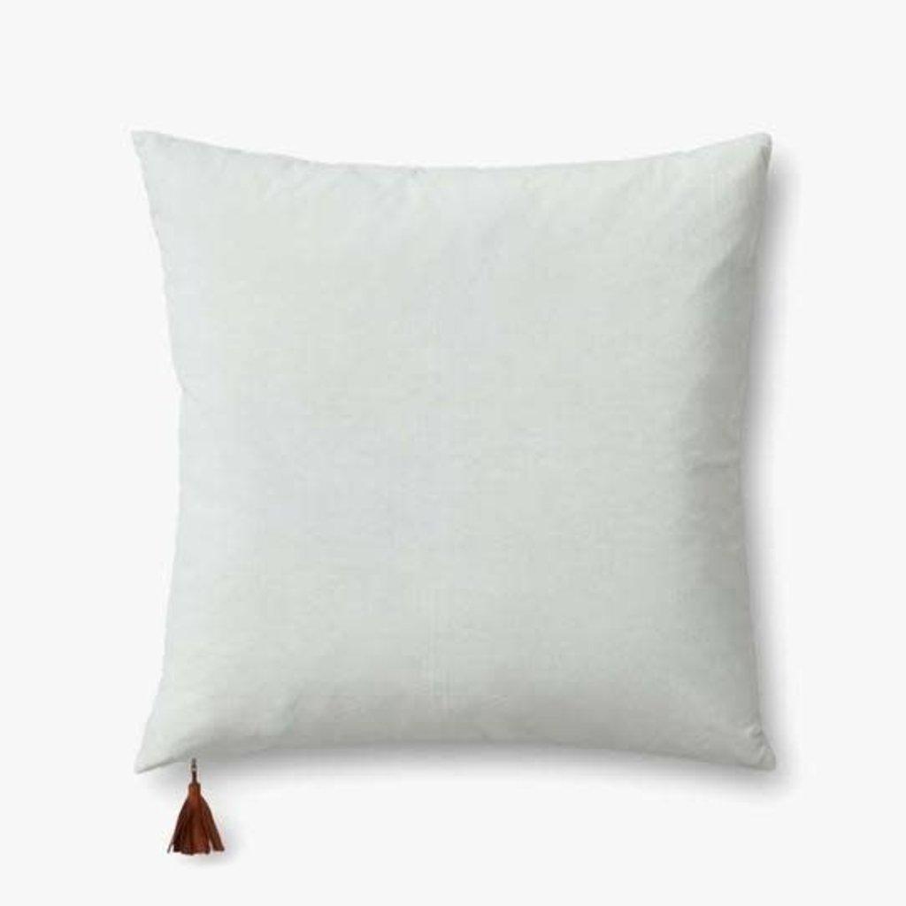 """Mint Velvet/ Snow Linen 22"""" x 22"""""""