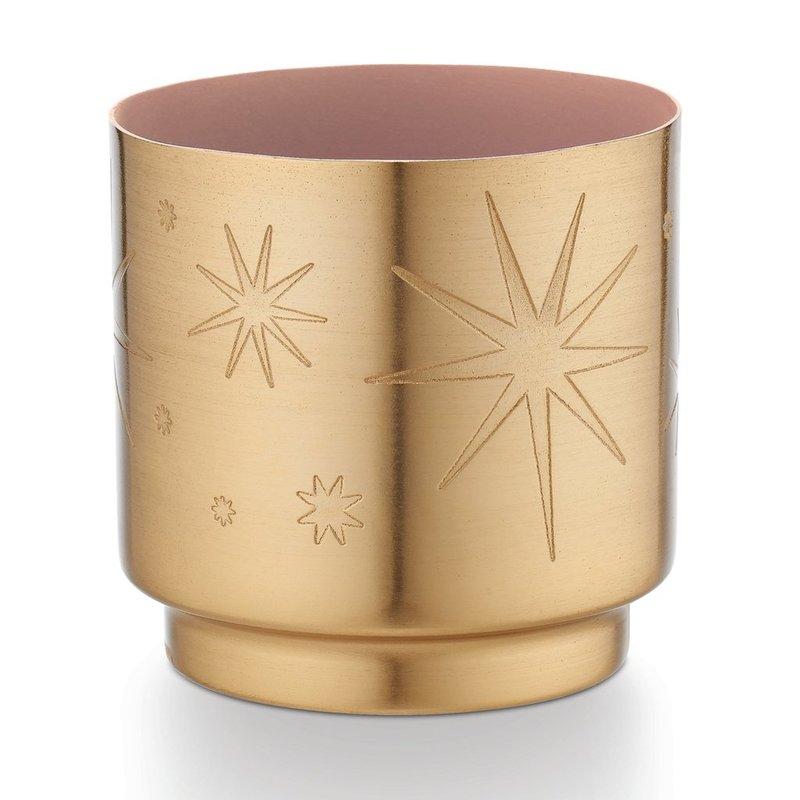 Pink Pine Tint Tinsel Candle