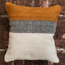 """Desert Marigold Wool Pillow 18""""x18"""""""
