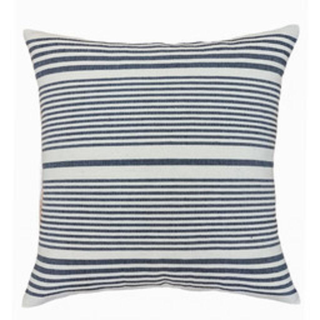 Istmo Navy Stripe Pillow 22x22