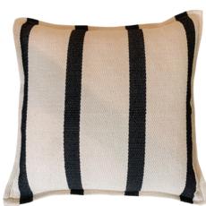 Monochromatic Stripe Pillow 20x20