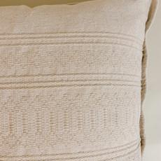 Beige Semillbrado Pillow 20x20