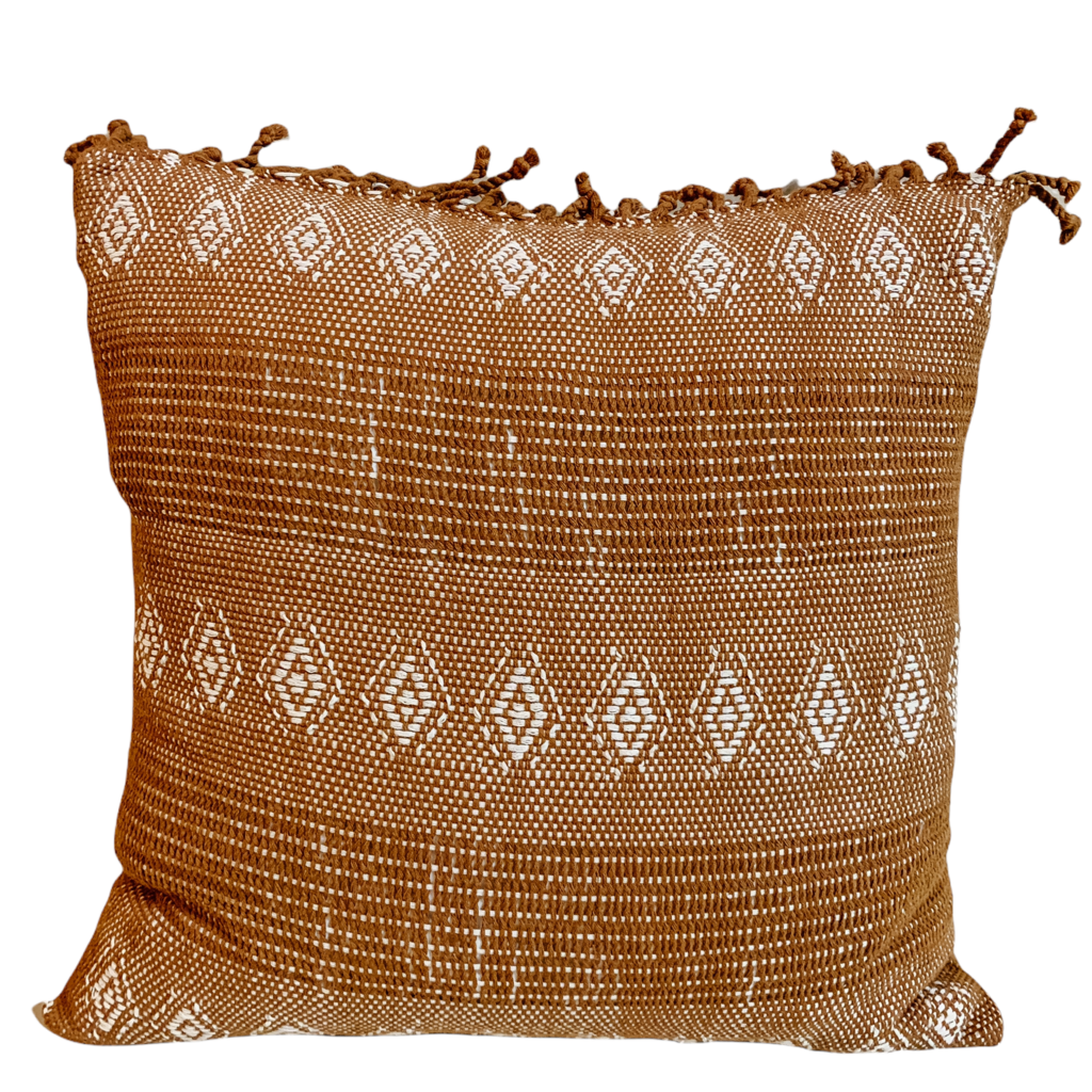 Quetzel Rust Pillow