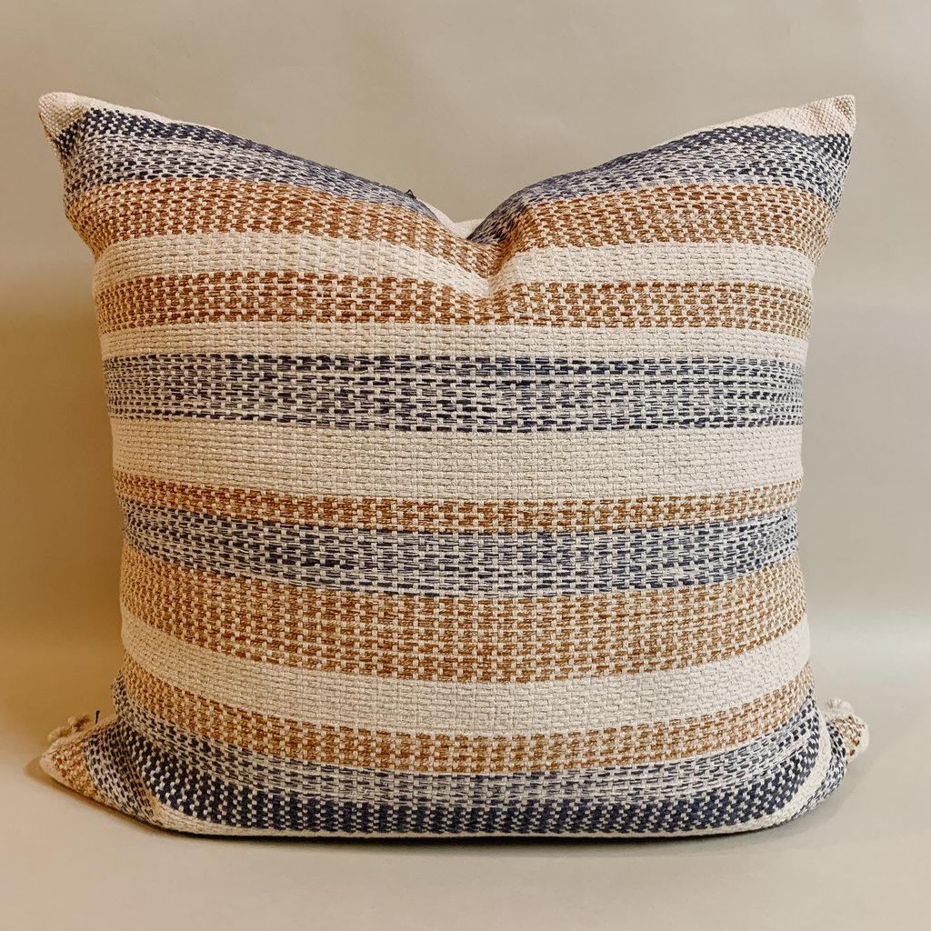Lago Rust Denim Pillow
