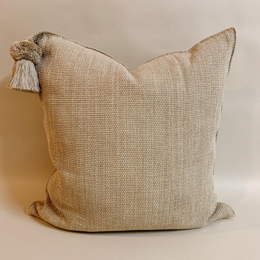 Pom Bone Light Pistachio Pillow