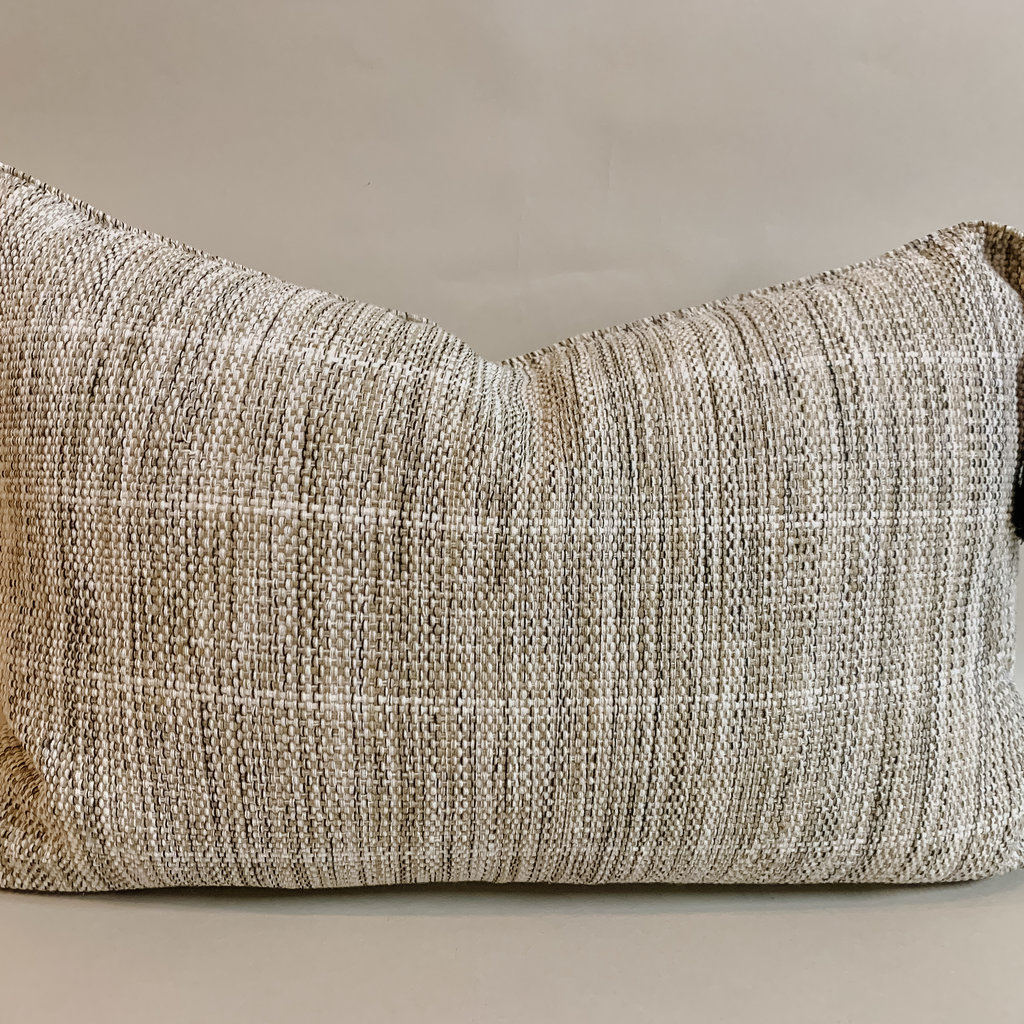 Lumbar Pom BoneLight Pistachio Pillow
