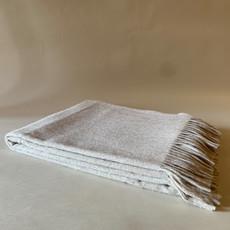 Beige Alpaca/Merio Wool Throw
