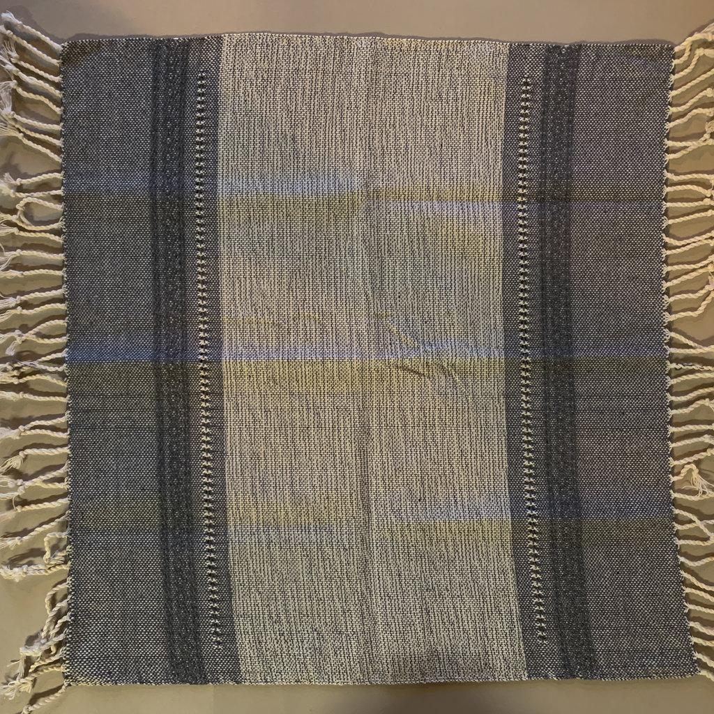 Blue Teo Cotton Napkin (Set 4)