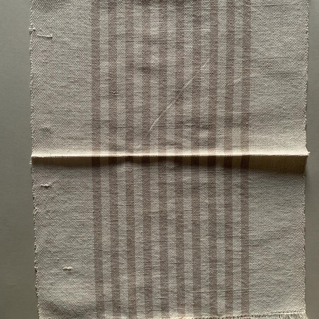 Handmade Cream/Beige Stripe Placemat (set 4)