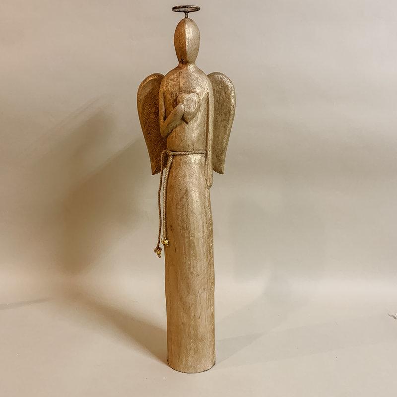 Mango Wood Angel