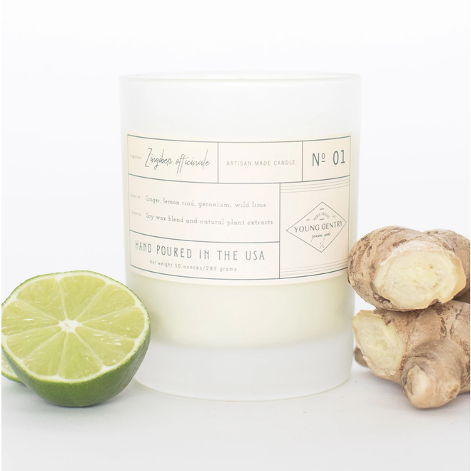 Young Gentry  Apothecary Collection Votive Candle