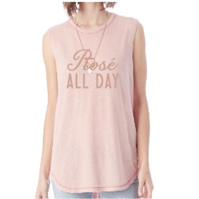 "Perrine's ""Rosé All Day"" Tank"