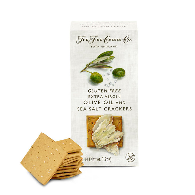 "Fine Cheese Co. ""Gluten Free"" Extra Virgin Olive Oil & Sea Salt 3.9oz"