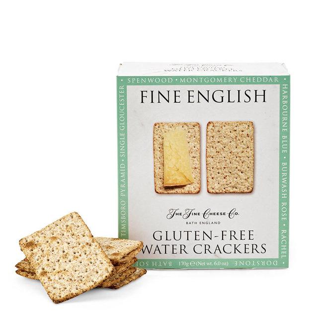 "Fine English ""Gluten Free"" Water Crackers 6.0oz"