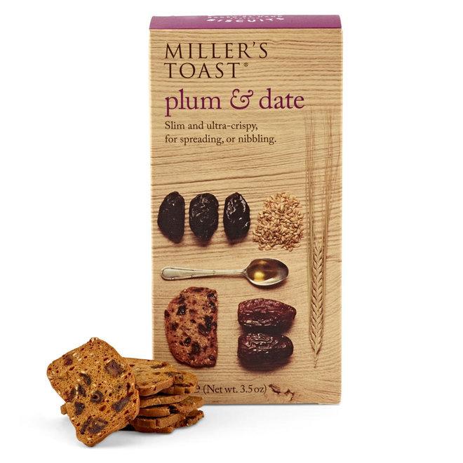 """Miller's Toast """"Plum & Date"""" (3.5oz)"""