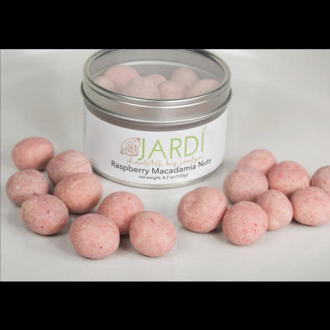 """Jardi """"Raspberry Macadamia Nuts"""" 4.2oz"""