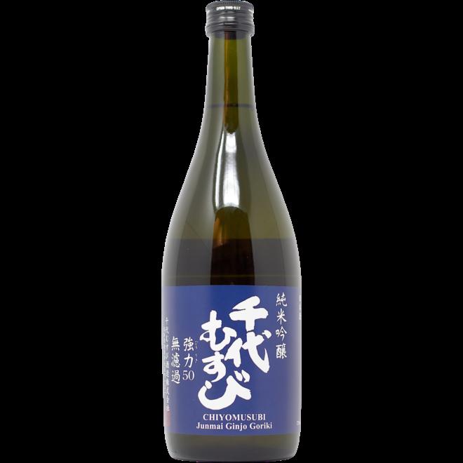 Chiyomusubi Goriki Junmai Ginjo Sake 720mL