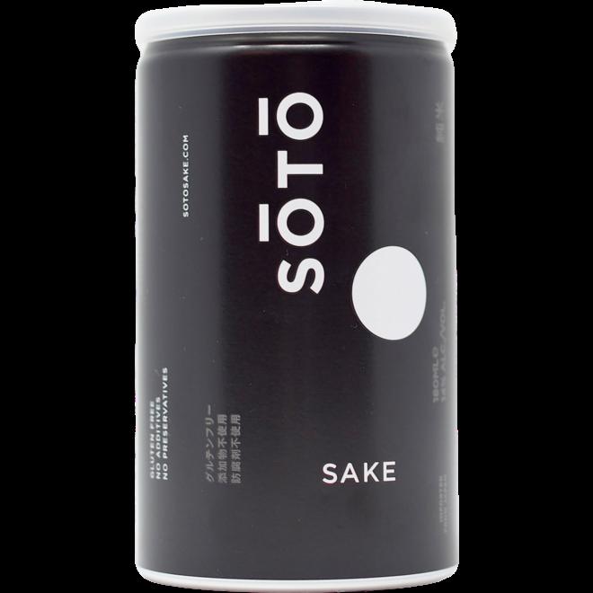 Soto Sake Junmai 180ml Can (can format)