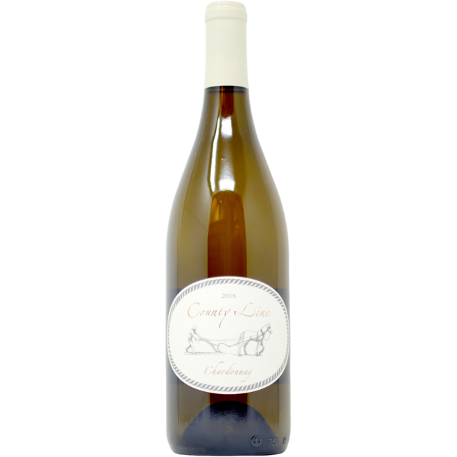 2018 County Line Vineyards North Coast Chardonnay