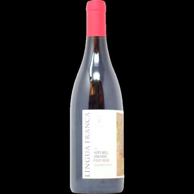 "2016 Lingua Franca ""Hope Well"" Pinot Noir, Eola-Amity Hills, Oregon"
