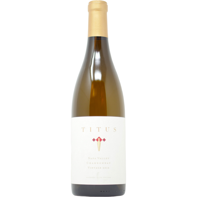 2016 Titus Vineyards Chardonnay Napa Valley
