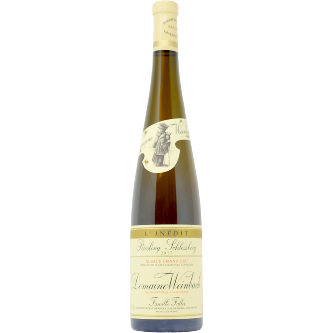 2017 Domaine Weinbach Riesling Grand Cru Schlossberg L'Inédit -Alsace, France