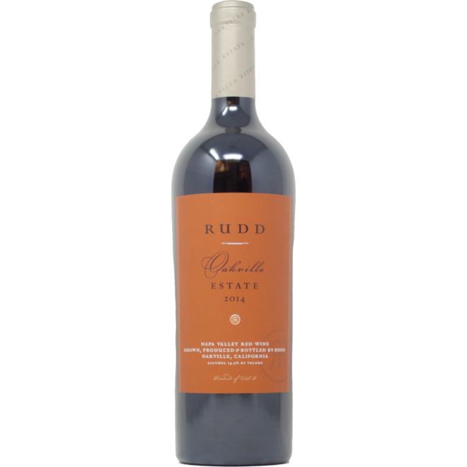 2014 Rudd Estate Oakville, Estate Red