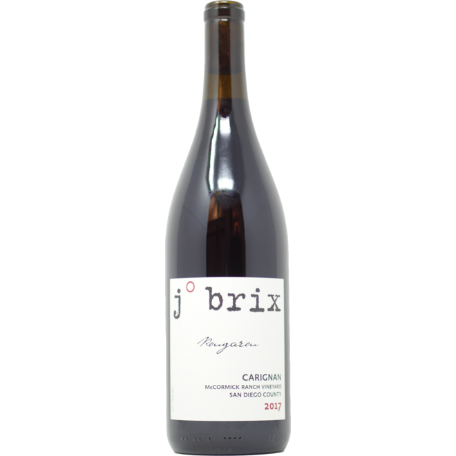 "2017 J. Brix Carignan ""Rougarou"" McCormick Ranch Vineyard"