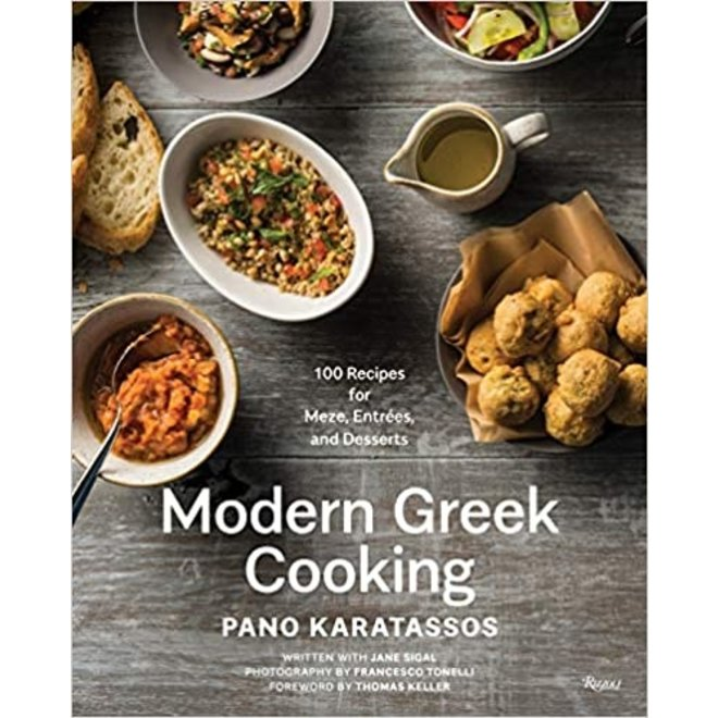 """Modern Greek Cooking"" Cookbook by Chef Pano"