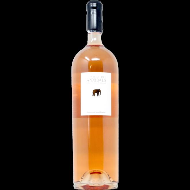 2019 Château des Annibals, Coteaux Varois en Provence Rosé , Provence, France Jeroboam 3L
