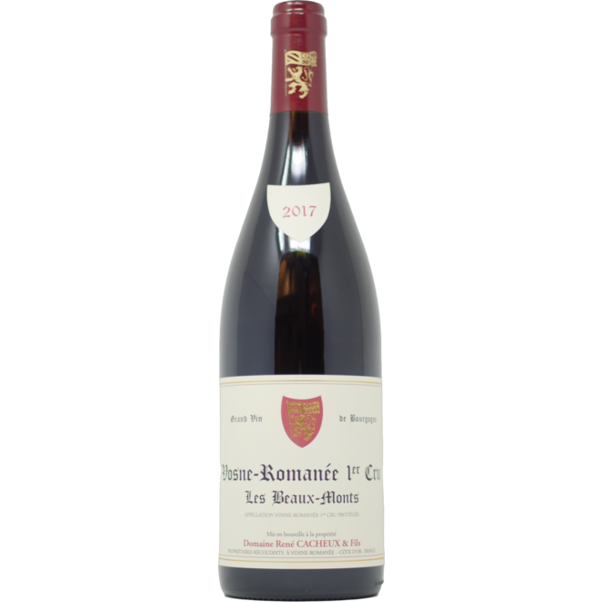 """2017 Rene Cacheux Vosne-Romanee 1er Cru """"Les Beaux Monts"""""""