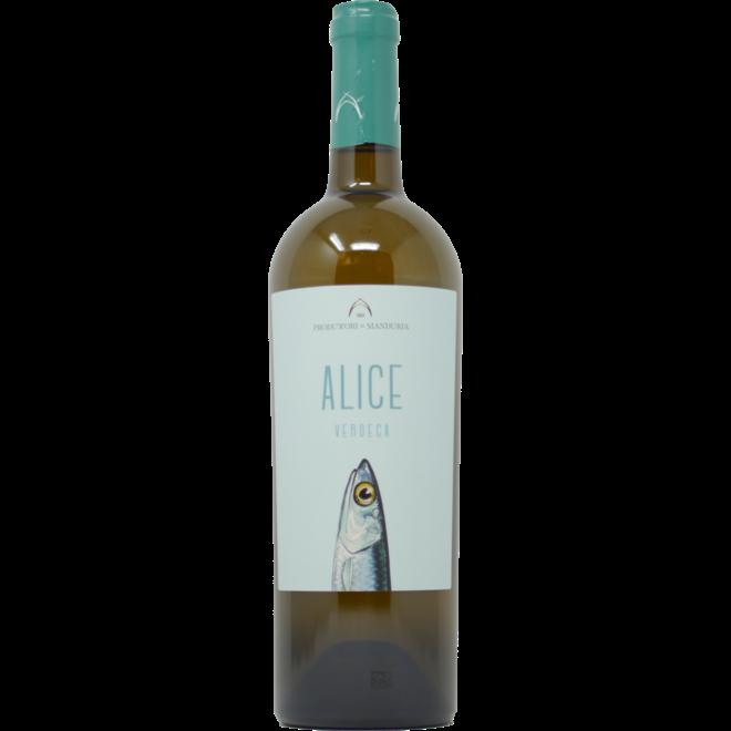 """2019 Produttori di Manduria """"Alice"""" - Puglia, Italy"""