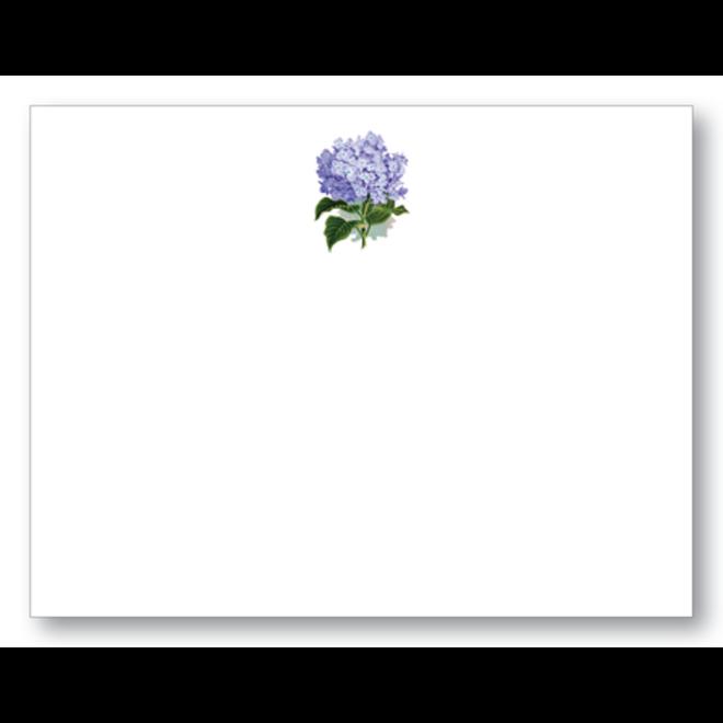Maison de Papier Hydrangea Blue Folded Card